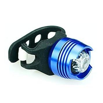 Aoligei LED Luces Bicicleta USB Recargable Lámpara LED Aluminio Luces traseras Alto Brillo Advertencia Seguridad Casco