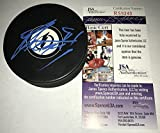 Steve Stamkos Signed / Autographed Tampa Bay Lightning Hockey Puck Blue - JSA Certified