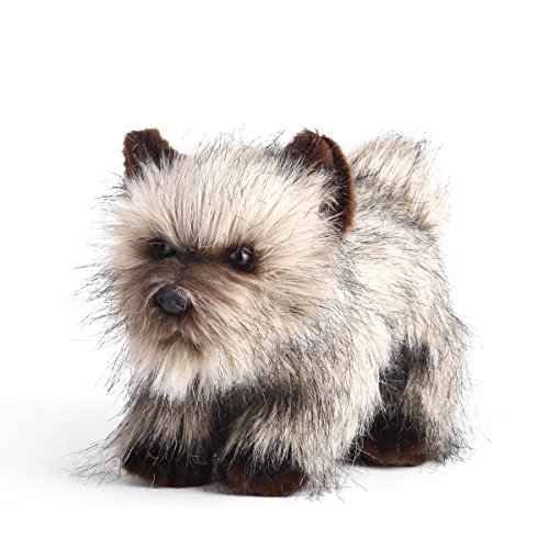 Toy Cairn Terrier - Nat and Jules Grumpy Large Cairn Terrier Dog Wispy Brown Children's Plush Stuffed Animal