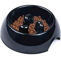 Super Design Anti-Gulping Dog Bowl Slow Feeder, Interactive Bloat Stop Pet Bowl for Fast Eaters