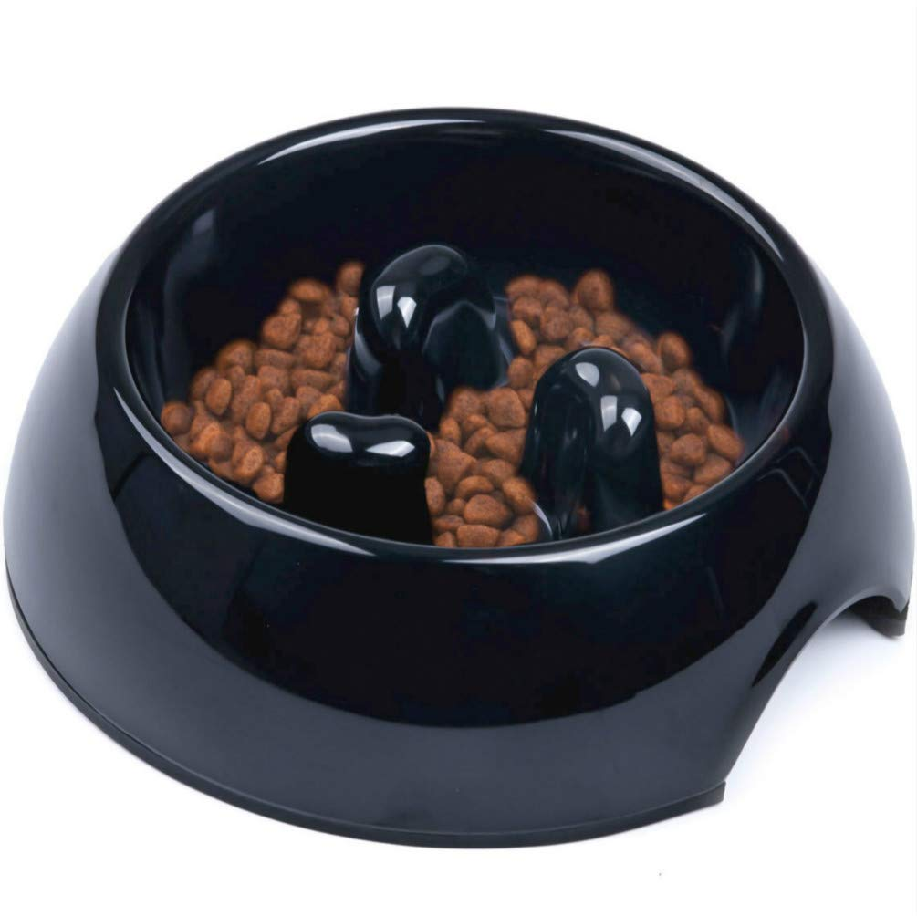 Comedero Antivoracidad Antideslizante para Perros y Gatos Ralentizar la Comida Super Design Comedero Lento en Melamina