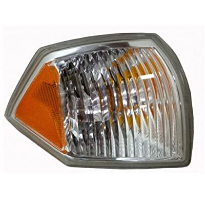 2007-2008-2009-2010 Jeep Compass Corner Park Light Turn Signal Marker Lamp Right Passenger Side (07 08 09 10): Automotive