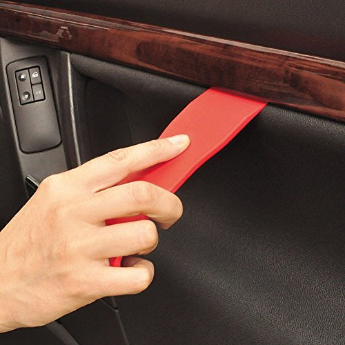 Gigamax(TM) 11Pcs Auto Car Radio Panel Interior Door Clip Panel Pry Tool Trim Dashboard Removal Opening Tool Set Diy Car Repair Tool Pry Kit [ Red ] by GigaMax (Image #2)'