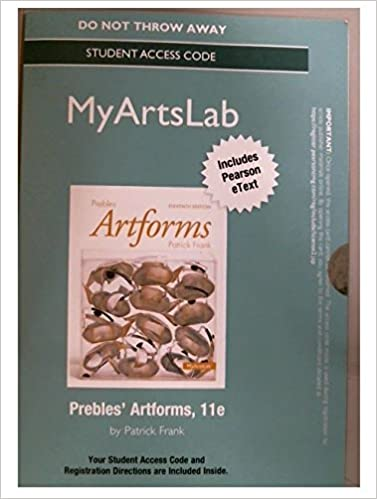 New mylab with pearson etext standalone access card for new mylab with pearson etext standalone access card for prebles artform 11th edition 11th edition fandeluxe Gallery