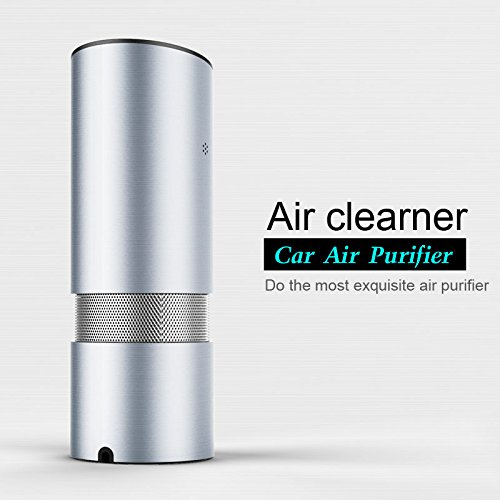 OLEEDA Car Air Cleaner,Full-Automatic Air Purifier and Lonizer,Healthy Air Freshener and Eliminator Removers Smell,Bad Odors and Cigarettes for Home and Car