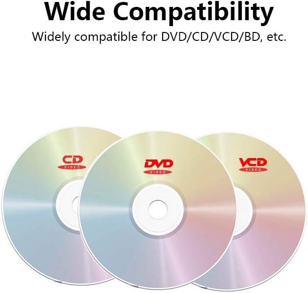 Walmeck- Lettore Dvd-Rom 3D 3.0 Lettore Dvd-Rom con unità Esterna Ultra Sottile per Linux Windows Mac OS DVD-ROM