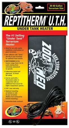 (Zoo Med Reptitherm Under Tank Heater (3040 gallons) 8