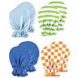4-Pack Scratch Mittens, Blue set