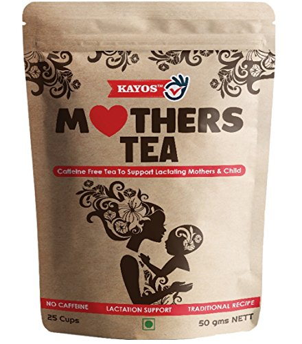 Kayos Mothers Tea for Breastfeeding Mothers with Fenugreek, 50 G