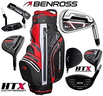 Benross HTX Compressor - Juego Completo de Palos de Golf de ...