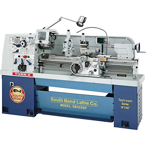 South Bend SB1039F Gearhead Lathe with DRO, 14-Inch by 40-Inch ()