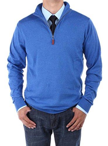 Quarter Zip Cashmere Sweater - 9