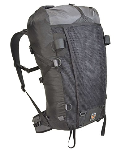 VenTerra Men's Nomad 40 Lightweight Backpack, Grey, Medium