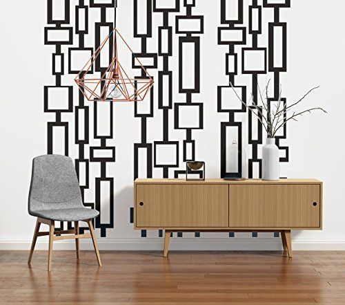 Mid Century Modern Decor Modern Wall Decals Mid Century Modern Wall Art Retro  sc 1 st  Amazon.com : modern wall art decals - www.pureclipart.com