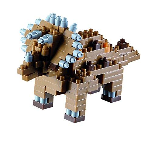 Brixies Building Bricks Dinosaur Triceratops