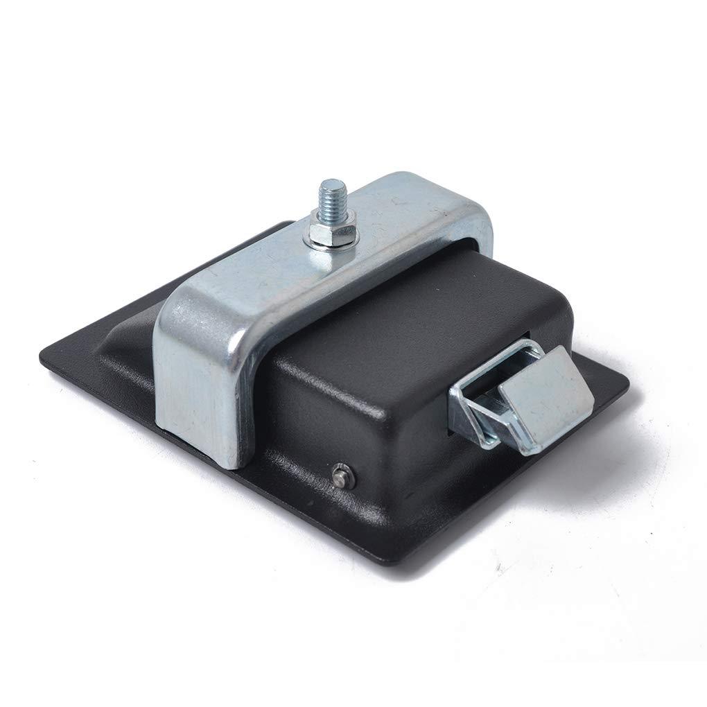 Entrada Paddle 4PCS Negro Cierre de Puerta y Claves Compatible para la Caja de Herramientas de Bloqueo de Remolque Caravana de Camiones
