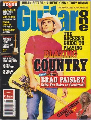 - Guitar One Magazine (September 2005) (The Rocker's Guide to Playing Blazing Country + Brad Paisley + Eddie Van Halen on Cornbread!)