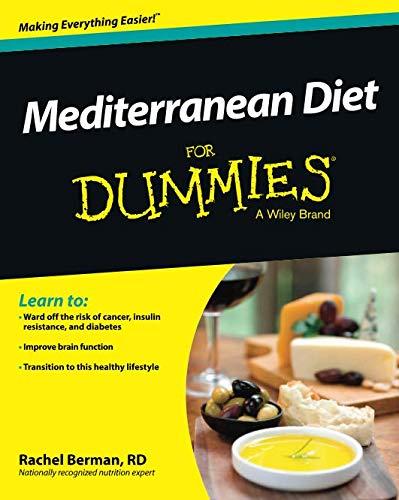 Read Online Mediterranean Diet For Dummies pdf epub