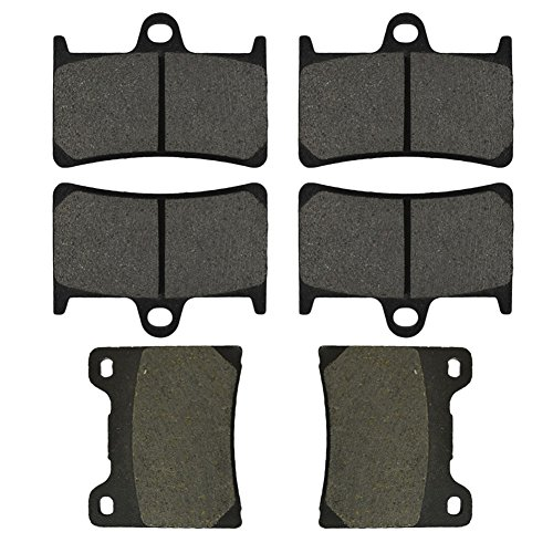 Rear Yzf600 Brake (AHL Semi-metallic Brake Pads Set for Yamaha YZF600R YZF600 R 1997-2007)