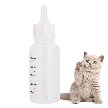 Takestop® Biberón 50 cc para l Transmisión Artificial de cachorros perros conejos gato animales