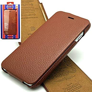 b1ff10fb114b Apple iPhone 6   6s Case Cover HOCO PREMIUM COLLECTION Genuine Leather  Mobile Flip Cases and
