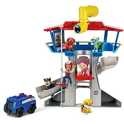 Nickelodeon Paw Patrol - Look-Out Playset, Vehicle and Figure, Take the  elevator to the top of the Paw Patrol Look-out