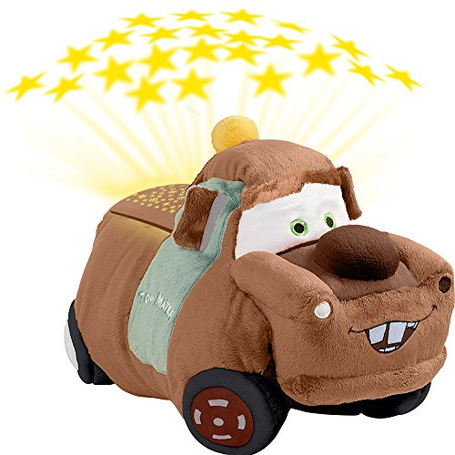 Pillow Pets Disney Pixar Cars Dream Lites Tow Mater Stuffed Animal Night Light by Pillow Pets