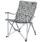 Folding chair / camping folding chair / camouflage ethnic style beach chair / sun lounger / fishing chair /Camping chair /Outdoor portable folding chair /