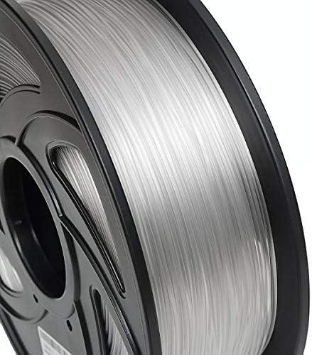LWQJP 1KG 1.75ミリメートルPETGフィラメント黒白またはヌードフルカラー3Dプリンタ3D印刷材料のための新しいフィラメント (Color : Nude)