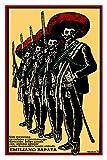 24''x36''Movie Poster.Mexican film by Antonio Aguilar.Emiliano ZApata.Jaime Fernandez.Mario Aimada.Mexico history war.7009