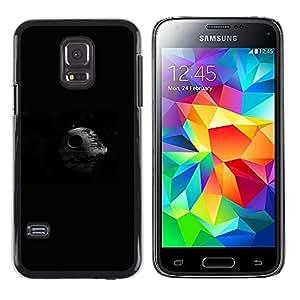 LECELL--Funda protectora / Cubierta / Piel For Samsung Galaxy S5 Mini, SM-G800 -- Estrella de la Muerte Espacio --