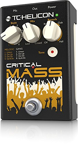 TC Helicon Critcal Mass Vocal Stompbox for Large Group Sound Effects by TC Electronic (Image #3)