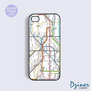 iPhone 4 4s Tough Case - London Train System iPhone Cover