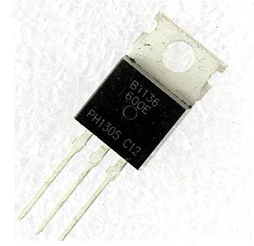 Price comparison product image Quickbuying 10pcs BT136-600E BT136-600 TO-220 Triacs Sensitive Gate New