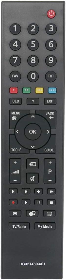 ALLIMITY Control Remoto reemplazado Apto para GRUNDIG RC3214803/01 TP6187R-P1
