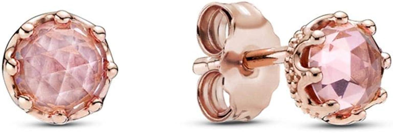 Pandora Orecchini a cerchio in argento Sterling placcato oro rosa