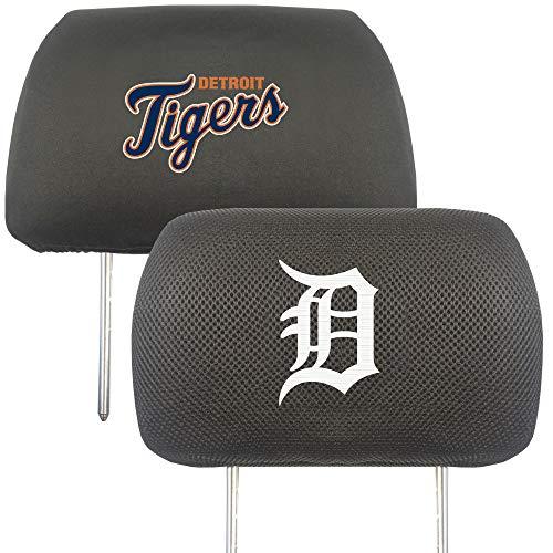 FANMATS MLB - Detroit Tigers Head Rest Cover (Tiger Head Rug)