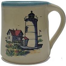 Great Bay Pottery Lighthouse Coffee Mug