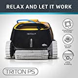 Dolphin Triton PS Automatic Robotic Pool Cleaner with Extra-Large...