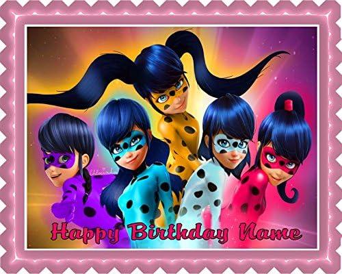 Phenomenal Miraculous Ladybug Wiki 2 Edible Cake Topper 10 X 16 1 2 Funny Birthday Cards Online Aeocydamsfinfo