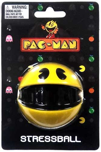Pac Man Stress Ball - PACMAN STRESS BALL [video game] by Paladone Products