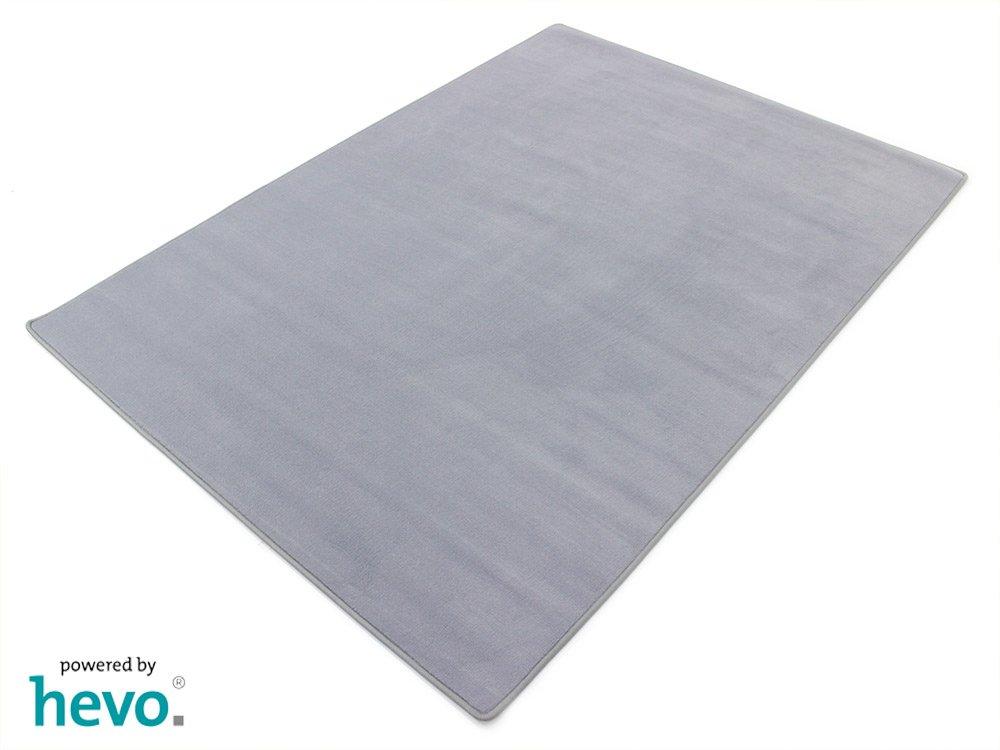HEVO Romeo grau Teppich   Kinderteppich   Spielteppich 145x200 cm