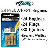 Estes A10-3T Model Rocket Engines (24 pack)