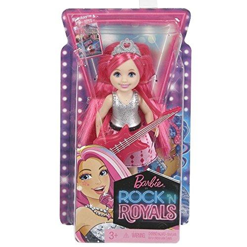 Barbie ckb69–Une Princesse le Camp Rock Star–Poupée Chelsea avec guitare, rose