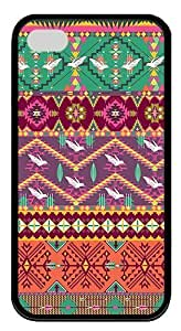 IMARTCASE iPhone 4S Case, Aztec Pattern Durable Case Cover for Apple iPhone 4S/5 TPU Black