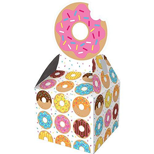 Donut Box - Creative Converting Favor Box, Donut Time (48-Count)
