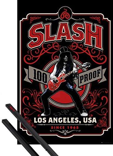 Poster + Hanger: Slash 100% Proof, Since 1965 And 1 Set Of Black 1art1