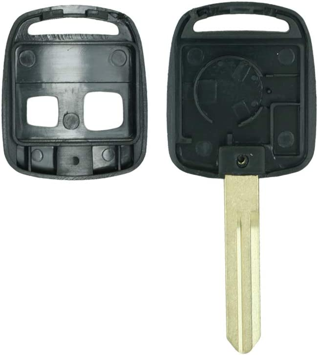 SEGADEN Replacement Key Shell fit for SUBARU 2 Button Keyless Entry Remote Key Case Fob PG108A