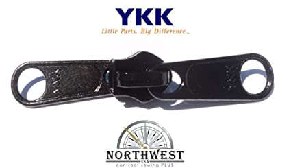 821195f5c119 Amazon.com   5 YKK CN Double Pull Zipper Slider. These sliders are ...