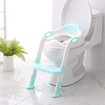Toiletten-Trainer T/öpfchen Kinder,Toilettensitz mit Leiter T/öpfchen Sitz mit Treppe.